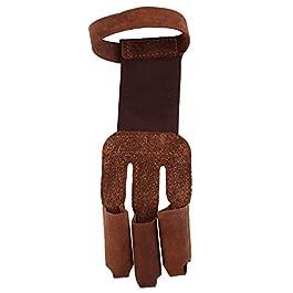 Futaba 3 Fingers Pull Bow Archery Protect Glove