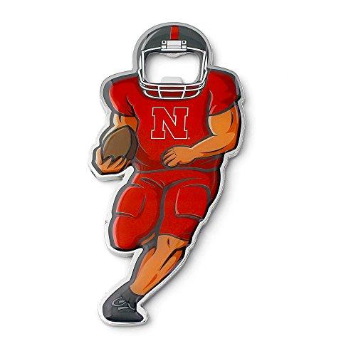 (NCAA Nebraska Cornhuskers Player Bottle Opener Magnet )