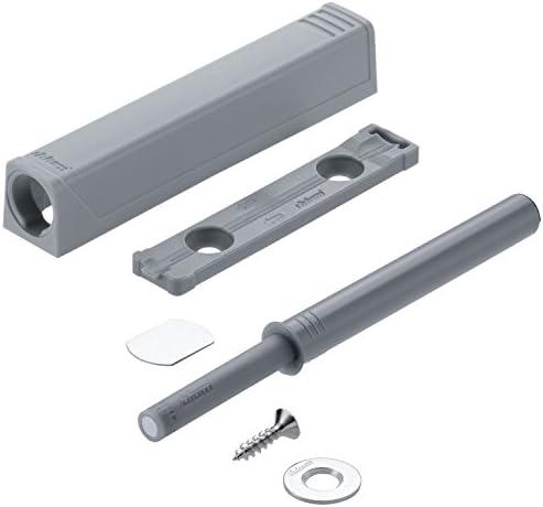 Blum TIP-ON Magnetschnäpper Push to Open Druckschnäpper  956A1004 Platingrau
