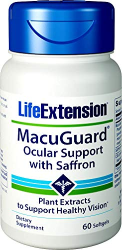 Life Extension MacuGuard Ocular Support with Saffron 60 ()