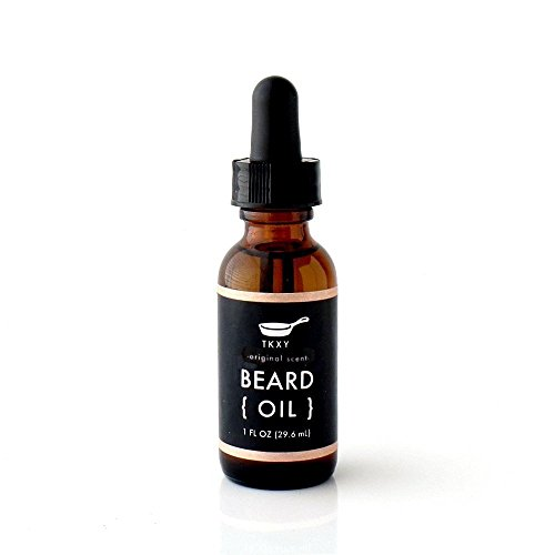 Organic Beard Oil - Original Scent (1 fl oz) by Tiny Kitchen Soap Co.