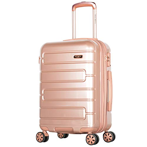 "Olympia Nema 22"" Exp. Carry-on Spinner, Rose Gold"