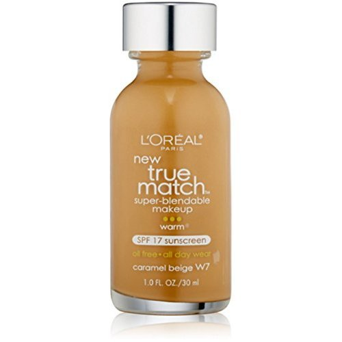 L'oreal Makeup True Match Caramel Beige W7 Foundation Size 1 Ounce