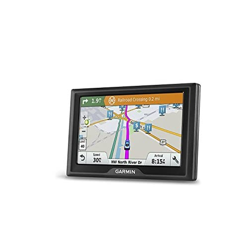Garmin Drive 61 USA LM GPS Navigator System with Lifetime Maps, Spoken Turn-By-Turn Directions, Direct Access, Driver Alerts, TripAdvisor and Foursquare Data (Certified Refurbished)