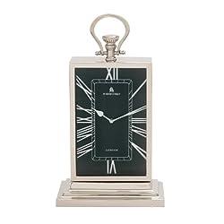 Plutus Brands The Stunning Metal Table Clock
