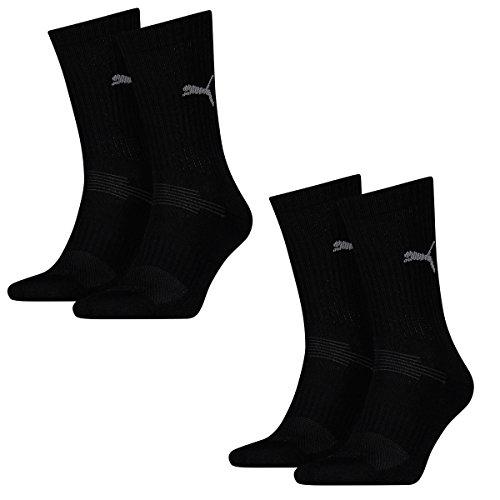 sport Coolmax 200 Of 4 Socks Women Men Sports Black Puma Multi Crew Pairs Unisex YICa4
