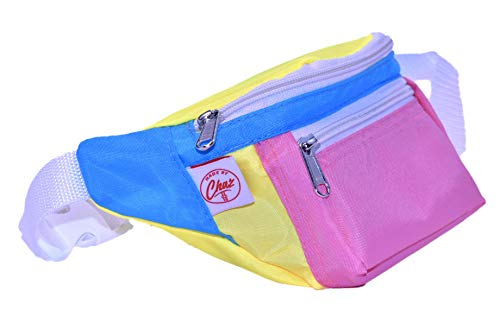 895fdf71e The Fanny Pack 80's Multicolor for women or men with Bonus Credit Card  Wallet