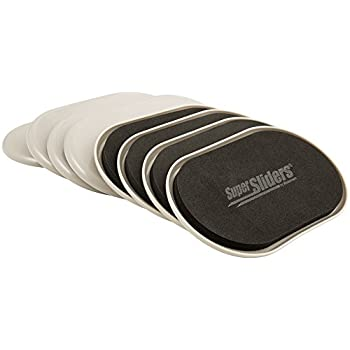 SuperSliders 4704295N Reusable Furniture Movers For Heavy Furniture For  Carpeted Surfaces (8 Pack)