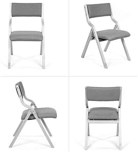 LWW Chaises, chaises de salle à manger de cuisine chaise de bureau en bois massif meubles de soutien arrière chaise de salle à manger chaise de réception pliable