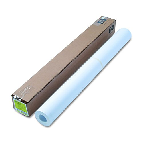HP C1861A Designjet Bright White Inkjet Paper, 4 mil, 36