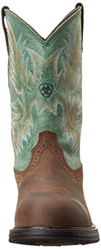 Tracey Oily H2O Distressed Toe Brown Western Comp Work Womens Ariat UBq5wOx