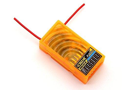 Rc Receiver (OrangeRx R615X DSM2/DSMX Compatible 6Ch 2.4GHz Receiver)