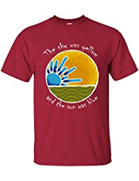 Sky Was Yellow Sun Was Blue - Scarlet Begonias Inspired Cotton T-Shirt