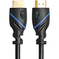 High-Speed HDMI Cable - 50 Feet, Supports Ethernet, 3D and Audio Return [Newest Standard], 1-Pack