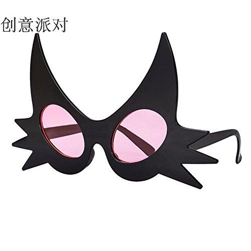 de Accesorios exagerado Color nbsp;Creativo de Rosa del Lentes Rotyr de Búho Divertido Baile Vestido Foto Gafas Fiesta Halloween Funny Sol Pink Divertidas de de la nbsp;onality Gafas qxpZ6Cw