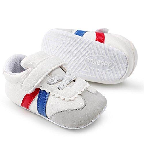 Prevently Weiche Baby und Kleinkind Lederschuhe Baby Gurt Kleinkind Schuhe  Baby Mädchen Jungen Schuhe Mode Kleinkind ...