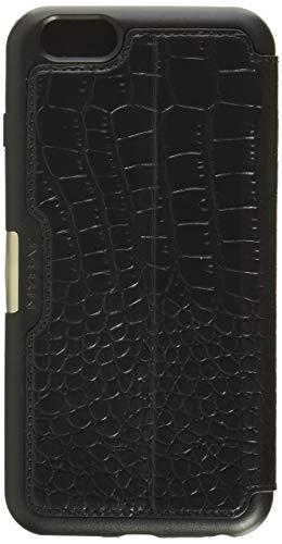MyBat Wallet Case for Apple iPhone 6s Plus/6 Plus - Retail Packaging - Black (Renewed)