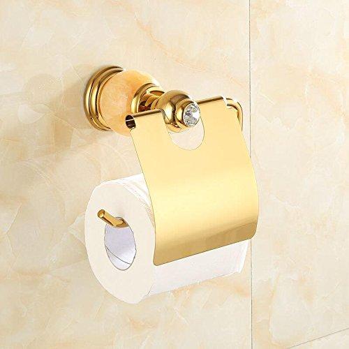 Znzbzt jewel of whole copper bath towel rack bathroom metal wall of marble gold towel rack racks, Huang Yu-paper towel rack