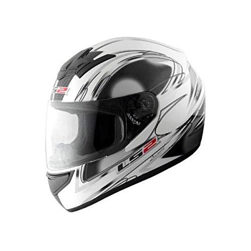 MHR LS2 BLAST(ブラスト) フルフェイスヘルメット ダイヤモンドホワイト M B00HGDH124