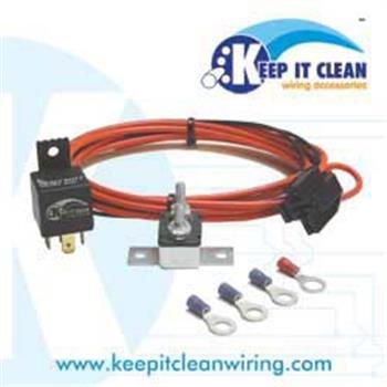 Brilliant Keep It Clean Harnfp Universal Fuel Pump Relay Kit Amazon Co Uk Wiring 101 Archstreekradiomeanderfmnl