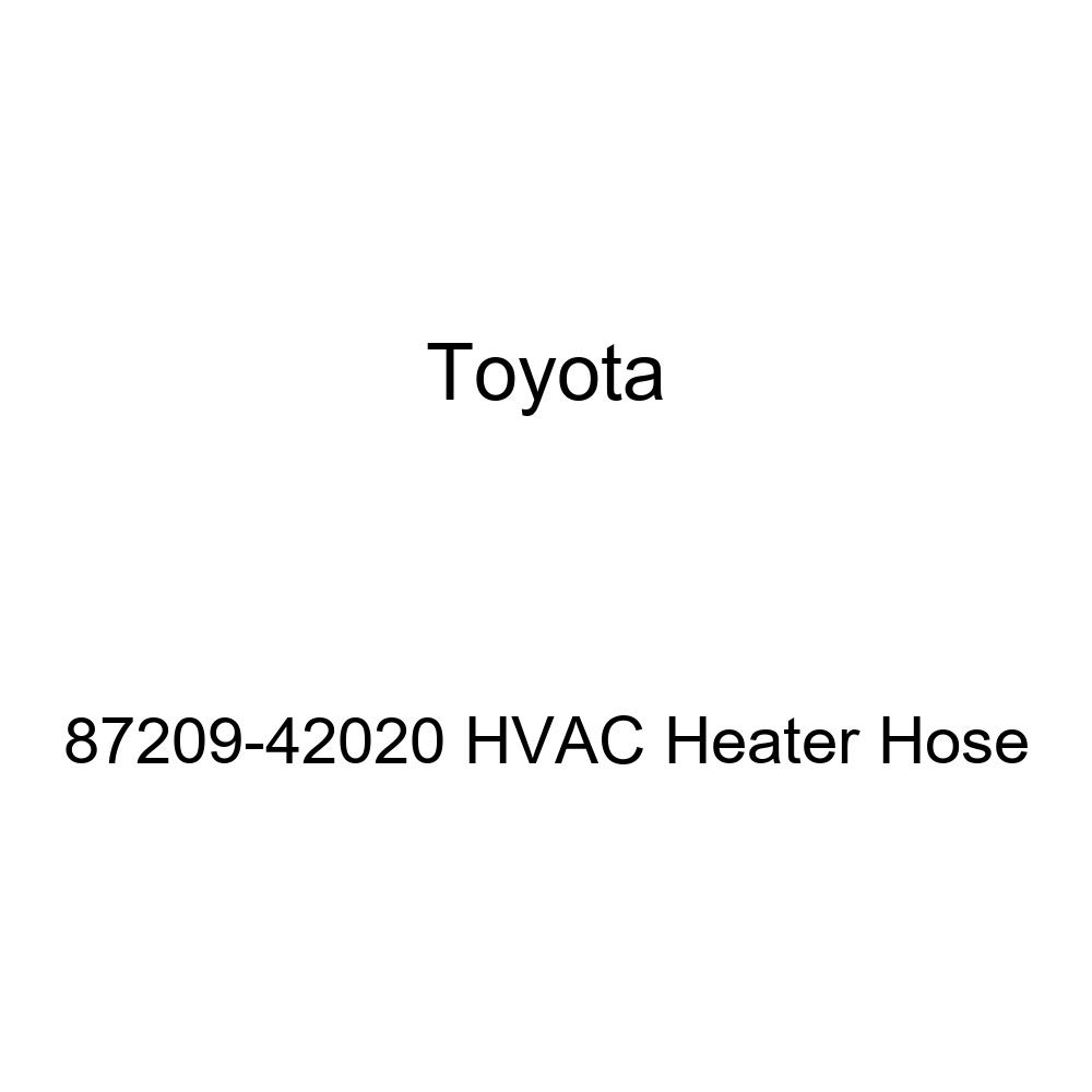 Toyota 87209-42020 HVAC Heater Hose