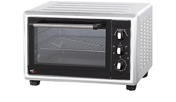 Melchioni Classic New 45 - Horno tostador, 45 l, 230°, 1800 W, color blanco