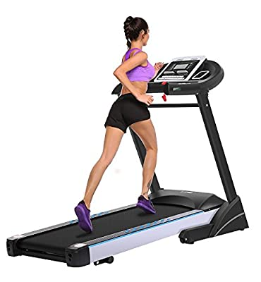 Jaketen Fitness Treadmill WIFI Touch Screen Folding Electric Walking Treadmills 3.0HP Running Machine