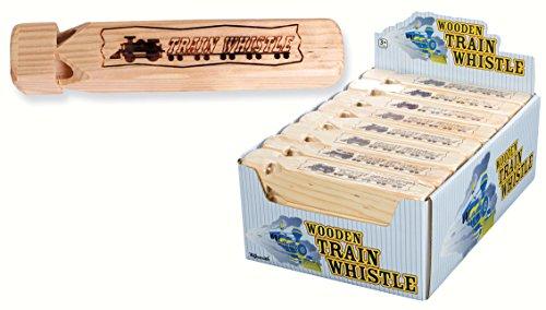 Toysmith - Timber Trail Toysmith Wooden Train Whistle