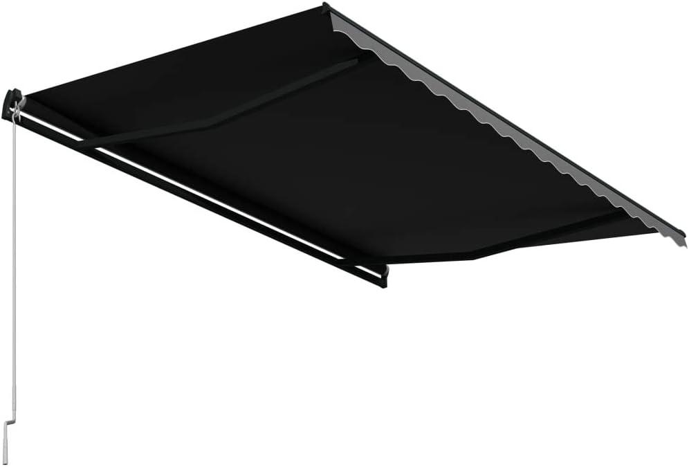 gaixample.org vidaXL Manual Retractable Awning Lightweight Anti-UV ...