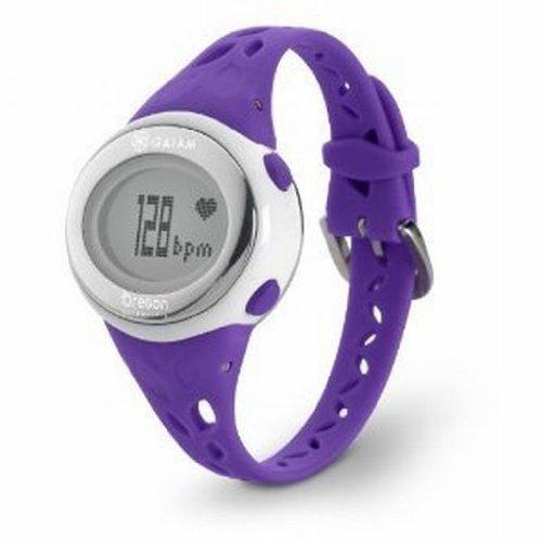 Oregon Scientific Gaiam Fitness Trainer 2.0 Watch, Purple