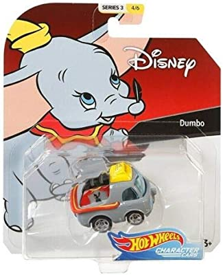 Amazon Com 2019 Hot Wheels Disney Pixar Character Cars Dumbo 1 64