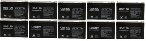National Battery C18A (RB6100) 6V 10AH - 10 Pack by Universal Power Group