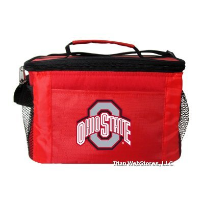 The Ohio State University Buckeyes 6 Pack Cooler – Lunch Box – DiZiSports Store