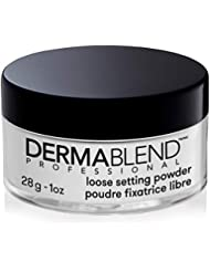 Dermablend Setting Powder, Loose Translucent Powder for Finishing and Setting Makeup, up to 16 Hour Wear, 1.0 Oz.
