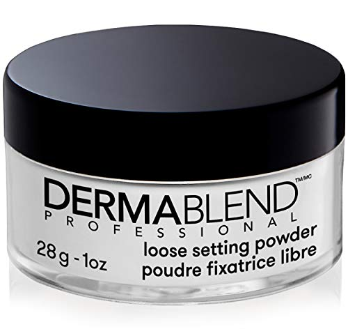 Dermablend Loose Setting Powder, Face Powder Makeup & Finishing Powder for Light, Medium & Tan Skin Tones, Mattifying…