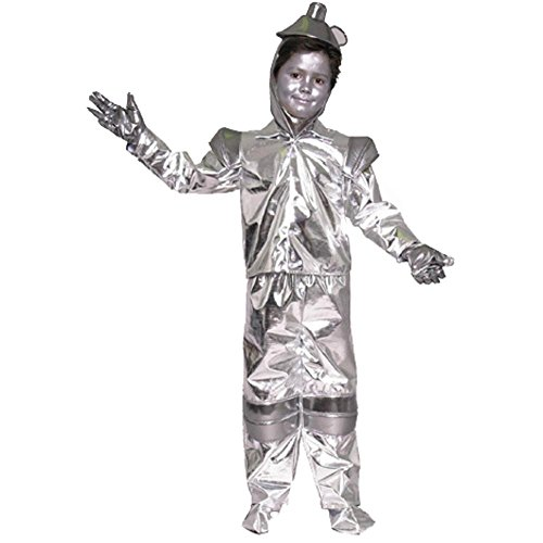 Child's Tin Man Costume Size: X-Small 4-6 - Tin Man Hat Costume