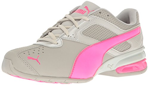 PUMA Kids' Tazon 6 SL Jr Running Shoe, Gray Violet/Knockout Pink, 6.5 M US Big Kid - Juniors Casual Shoes