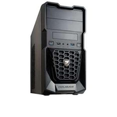 COUGAR Gaming Spike Midi-Tower Negro Carcasa de Ordenador ...