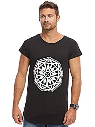 Afterlife Black Round Neck T-Shirt For Men
