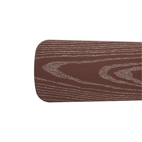 Quorum 5251313321, Five Brown Type 1 Outdoor Semi-Square Blades by Quorum