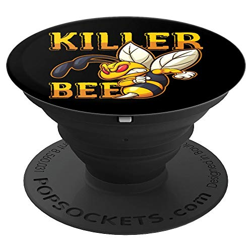 Awesome Killer Bee Hornet Yellowjacket Honeybee Lover PopSockets Grip and Stand for Phones and Tablets