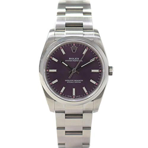 Rolex Oyster Perpetual Swiss-Automatic Male Watch 114200 (Certified (Pre Owned Mens Rolex)