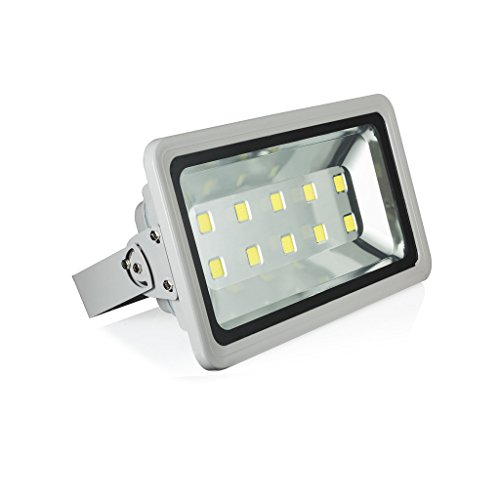 - Gopretty 500W Warm White LED Outdoor Floodlights ,Waterproof IP65 Security Lamps, Send via Express,Fedex/ DHL, 85~265V AC