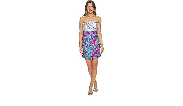 1f929ffc0f8da1 Lilly Pulitzer Women's Brynn Dress Raz Berry Lobsters in Love 00 at ...