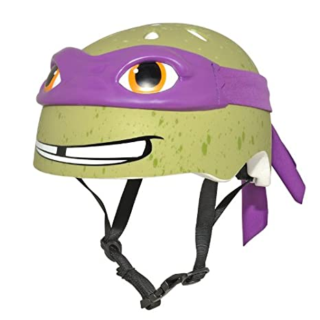 8495f7c0551 Amazon.com : Teenage Mutant Ninja Turtle Youth Donatello Helmet ...