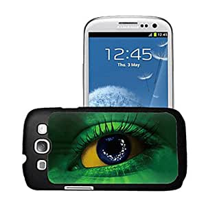 LZX Eyes Pattern 3D Effect Case for Samsung S3 I9300