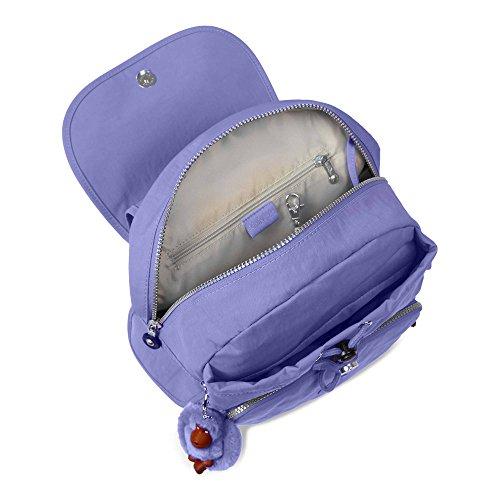 Purple Kipling Medium City Pack Solid Purple Backpack Deep Bold qgrYBgWn