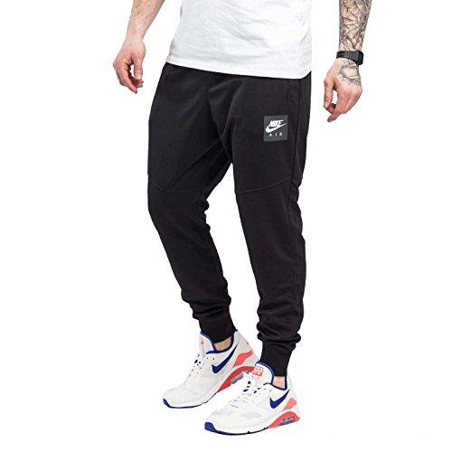 NIKE Mens Air Pack Track Jogger Pants Black/White 918326-011 Size Small