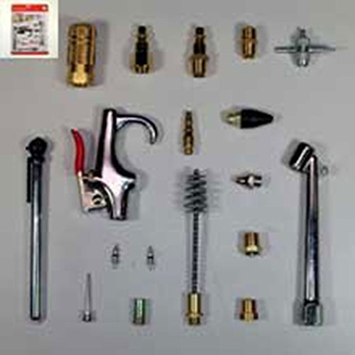 18 Pc Pneumatic Accessory Kit Air Compressor, Power Tools