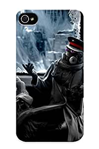 New Style Tpu 4/4s Protective Case Cover/ Iphone 4/4s Case - Romantically Apocalyptic